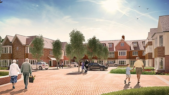 Anchor Care Village, Yateley Hampshire